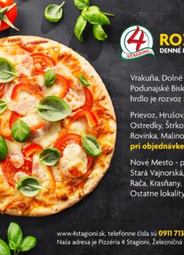 Tasty appetizing vegetarian pizza on dark background. Horizontal.